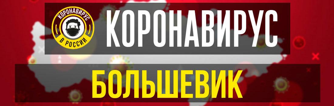 Большевик заболевшие коронавирусом: сколько зараженных в Большевике