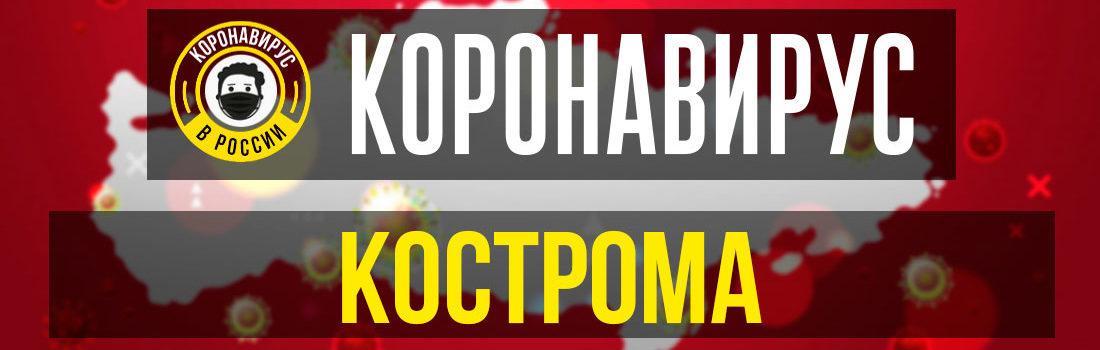 Кострома заболевшие коронавирусом: сколько зараженных в Костроме
