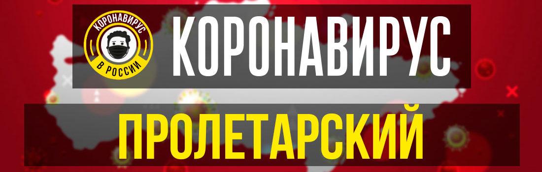 Пролетарск заболевшие коронавирусом: сколько зараженных в Пролетарске