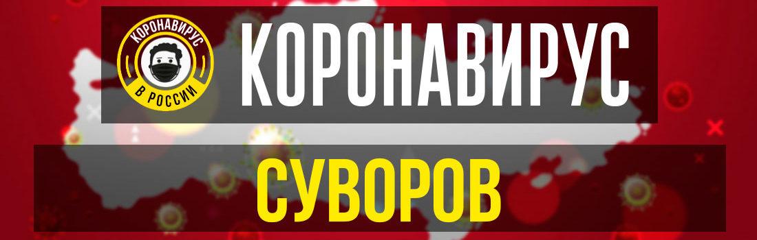 Суворов заболевшие коронавирусом: сколько зараженных в Суворове