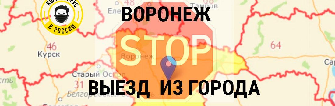 Можно ли при карантине в Воронеже уехать в другой город?